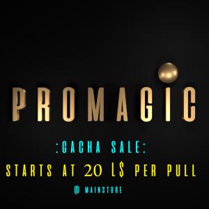 _PROMAGIC_Gacha Sale